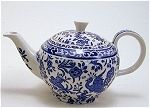 Bluebird Teapot with Mug