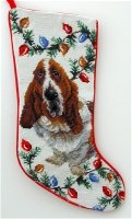 Basset Hound Stocking