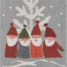 Ekelund Weavers Christmas towels