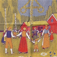 Ekelund Swedish themed cotton towels