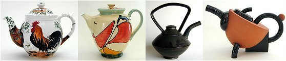 Teapot Collections Hand Thrown Pieces