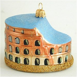roman colosseum - Italian Christmas Ornaments