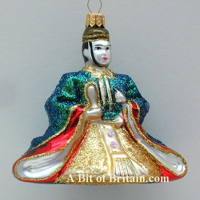 Japanese Christmas Ornaments and Asian Themed Ornaments