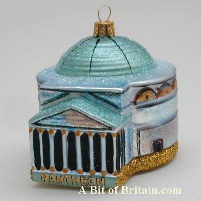 Pantheon - Italian Themed Christmas Ornaments