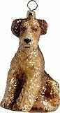 Airedale Dog Ornament