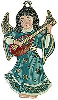 Angel with Mandolin