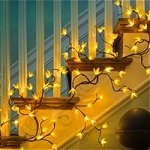 Forsythia Twig Lighted Garland