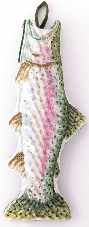 Fish christmas stockings for Fish christmas stocking