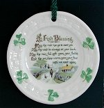 Irish Blessing Christmas Ornament