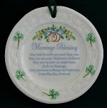 Marriage Blessing Christmas Ornament
