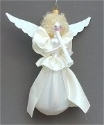 Angel with Horn in White